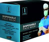 1Mile Disposable 3 Ply 100 Face Mask White